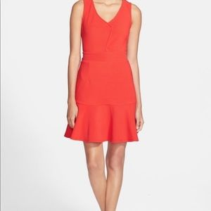 Nordstrom brand red dress size small
